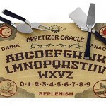 Ouija Cheese Board Set