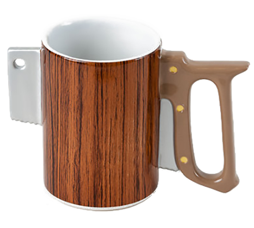 saw mug
