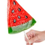 Gummy Watermelon Slice On a Stick